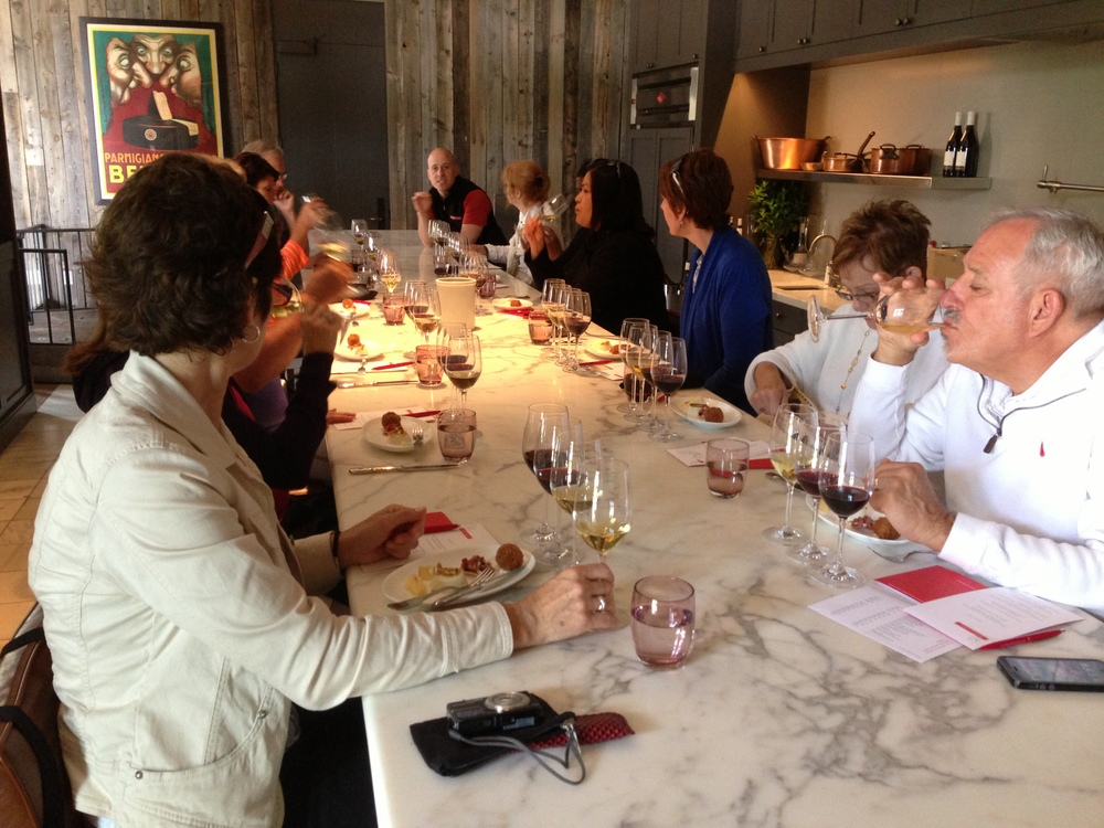 Wine and Food Pairing at Ram's Gate Winery