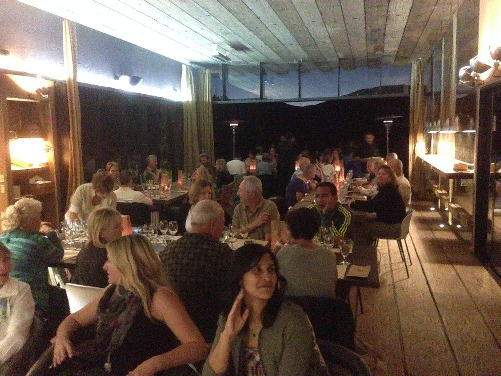 Dinner at Corazon de Tierra