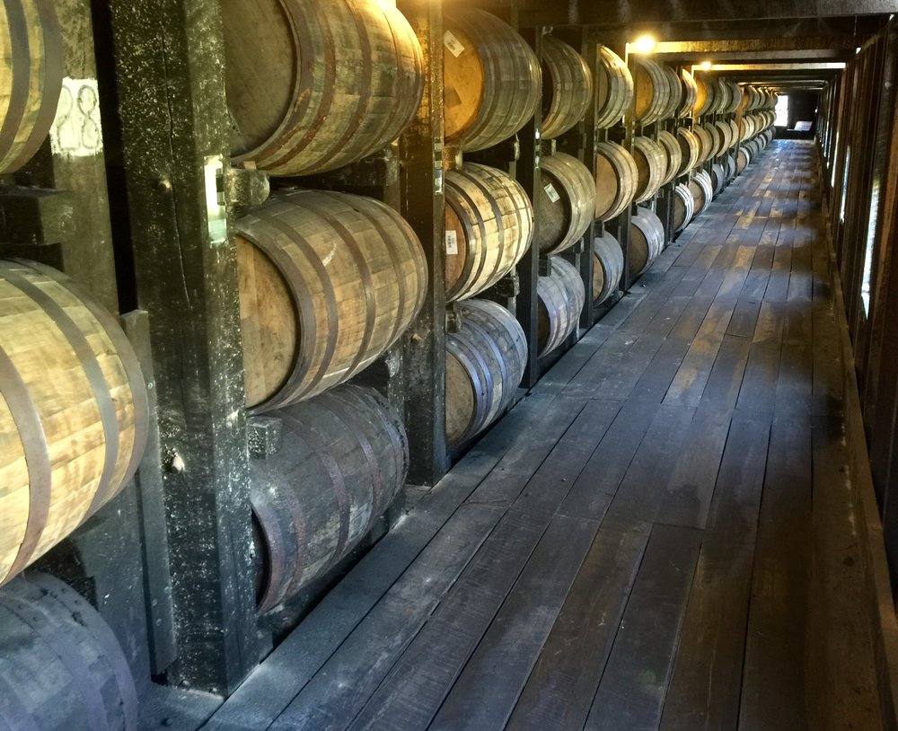 Rickhouse at Heaven Hill.