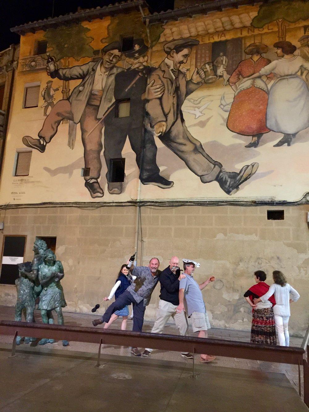 Mural re-enactment from week #5.