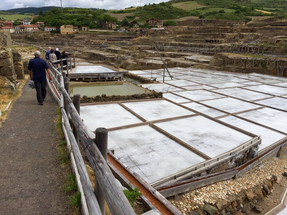 Panoramic of the ancient salt fields in Valle Salado.