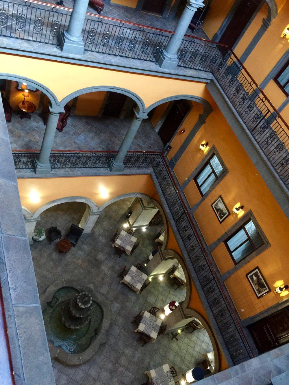 Our beautifully restored hotel in Guadalajara
