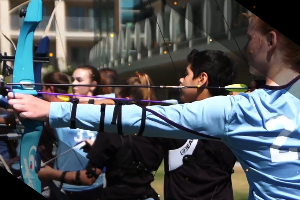 Olympic Archery In Schools - a unique league that supports both archery programs and school archery teams
