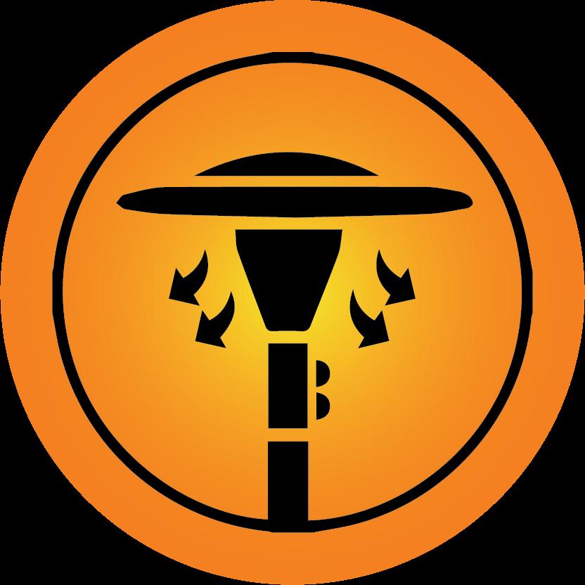 Propane Cowboy Heater Icon