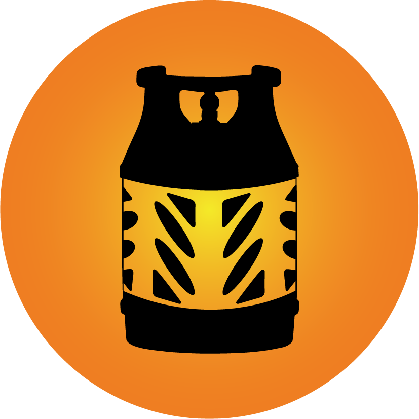 Propane Cowboy Cylinder Icon