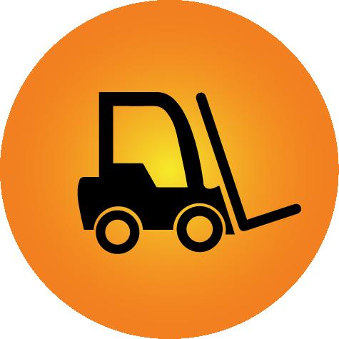Propane Cowboy Forklift Icon