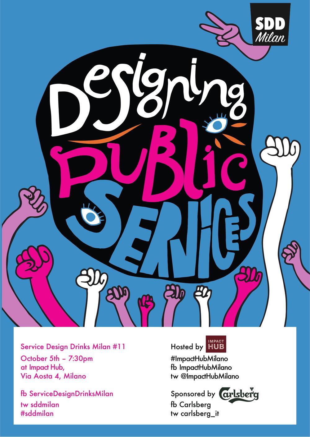 Service Design Drinks Milan #11 - Designing Public Services