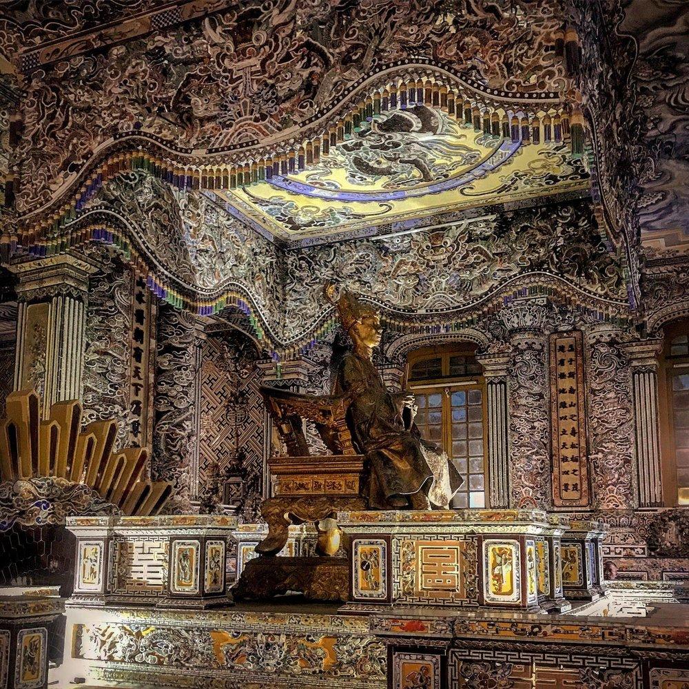 Lăng vua Hải Định  Photo by Joje Thoroughbred James