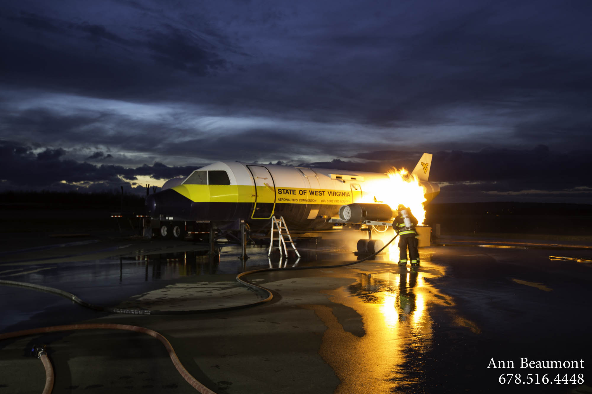 2014-01-14 RCMA Aircraft Fire Training-13