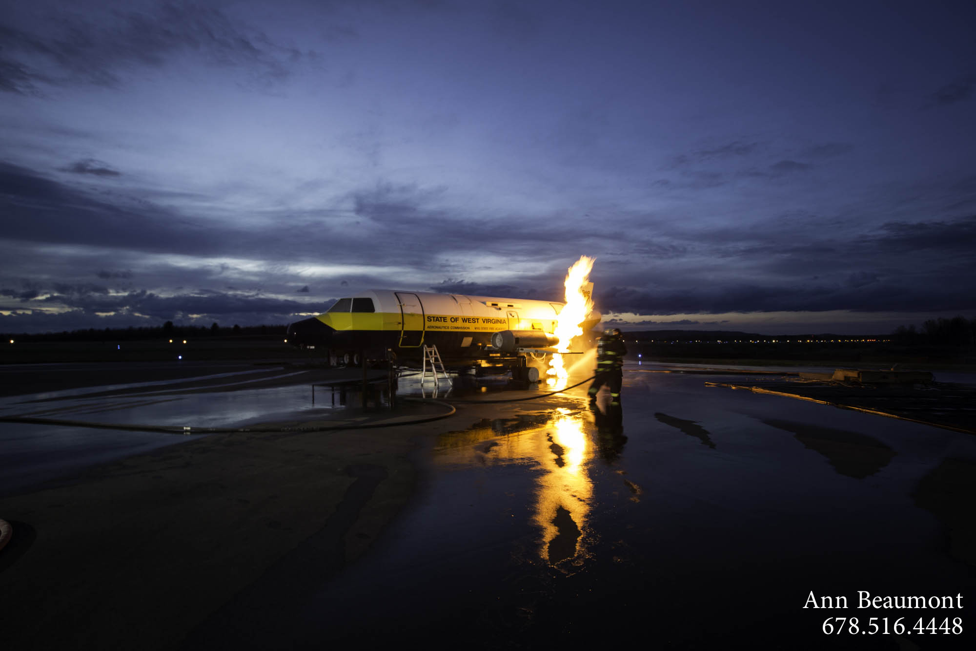 2014-01-14 RCMA Aircraft Fire Training-9