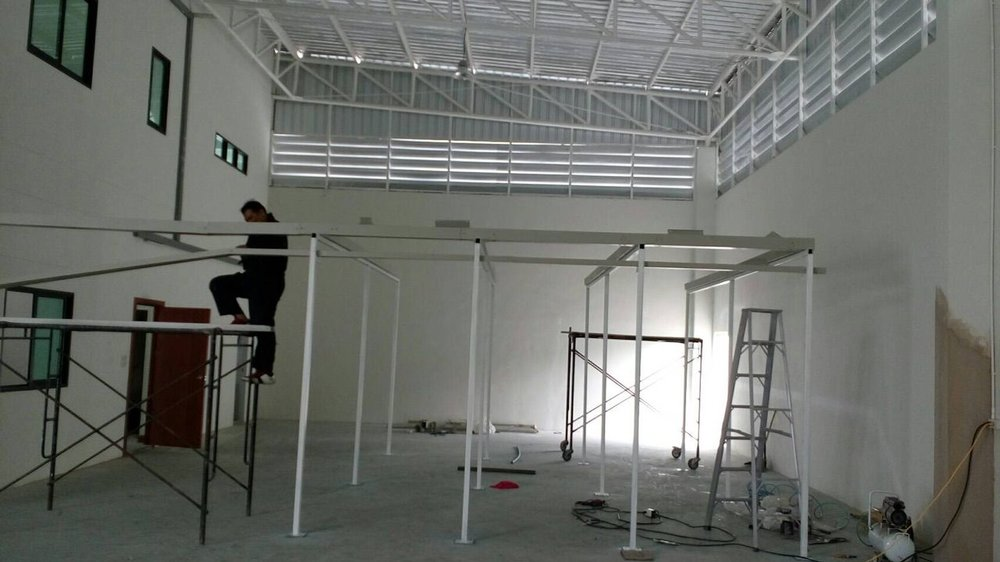 As we filled our smaller hangers, we began expanding into our bigger spaces