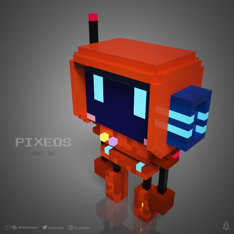 Voxie the pixEOS Telegram bot designed by @fabiyamada
