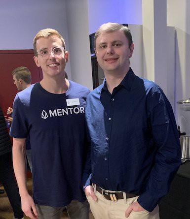 Rob & Dan at the EOS Hackathon in San Fransico