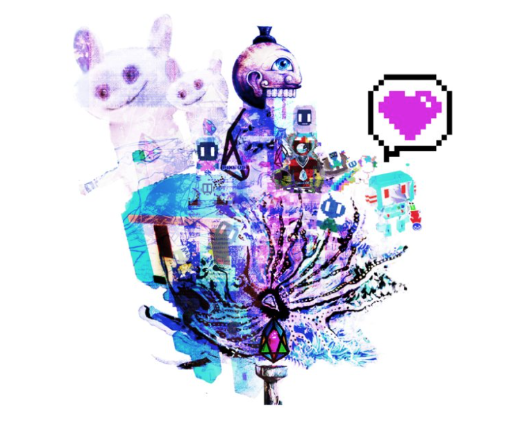 Love pixEOS image by Yusaymon.