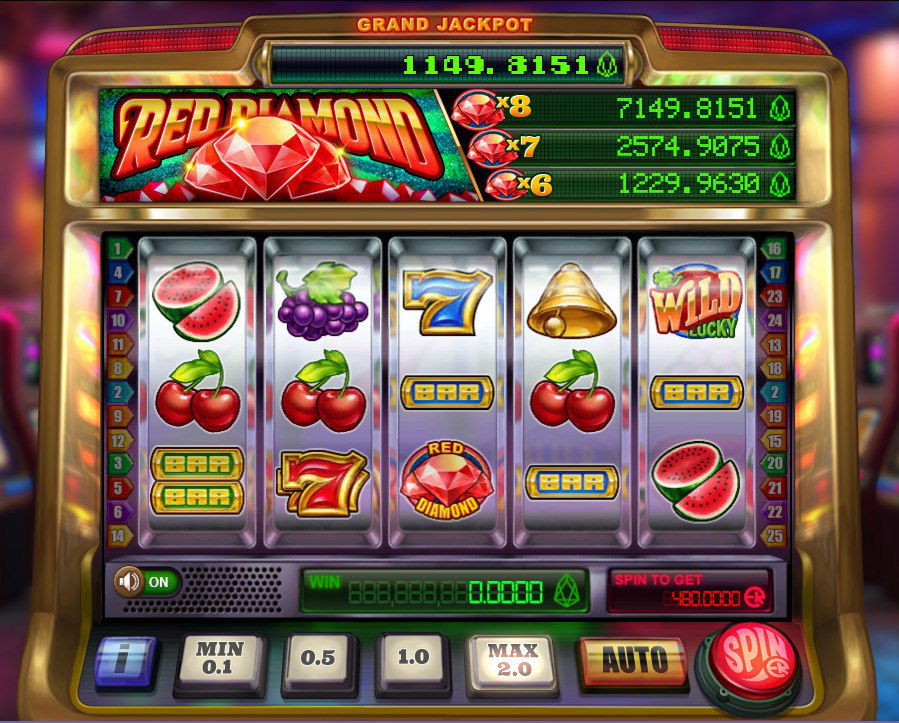 Grand Jackpot applied to Red Diamond