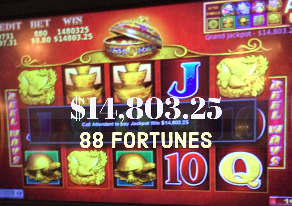 Free Spins jackpot winner in French Lick casino