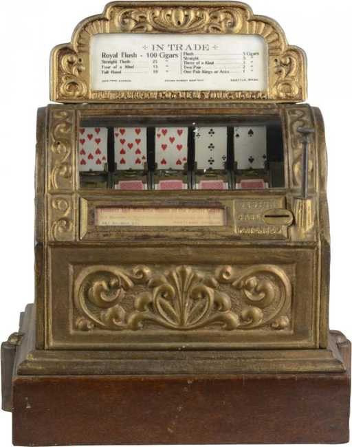 The very first slot machine
