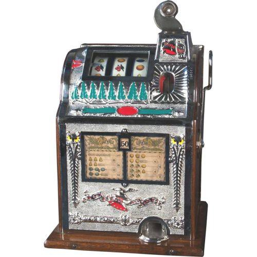 50 cent Mills Operator Bell Slot Machine