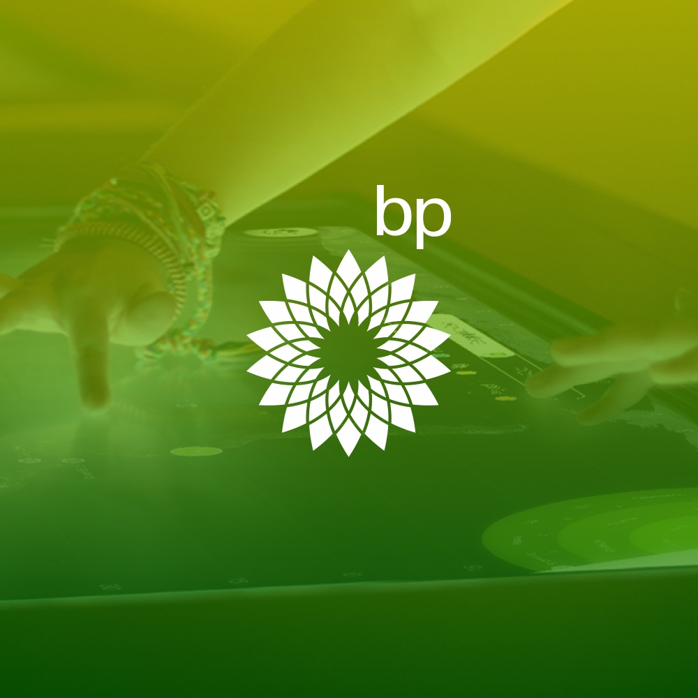 BP learning centre – interactive table