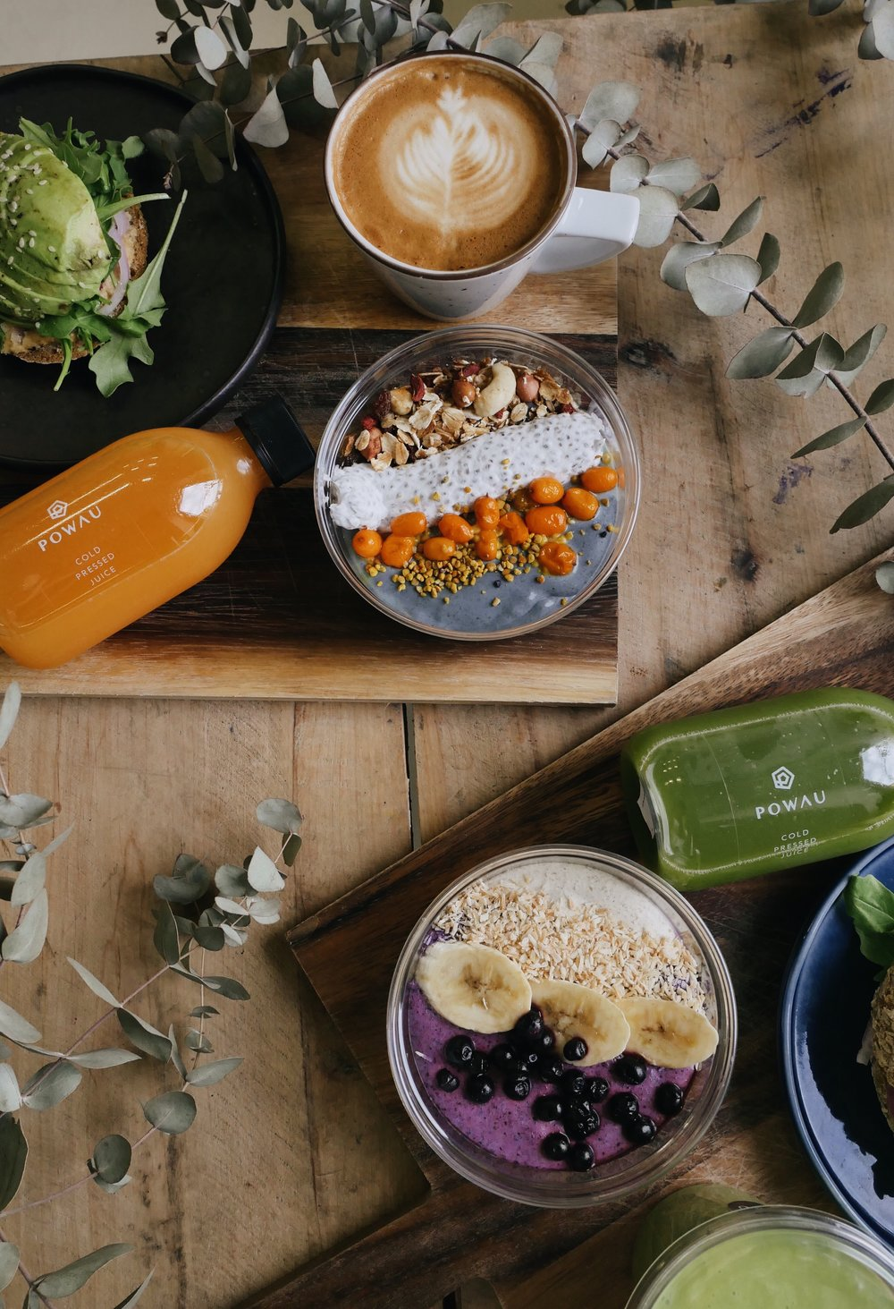 WORKS - social media content for healthy food concept POWAUSEE MORE