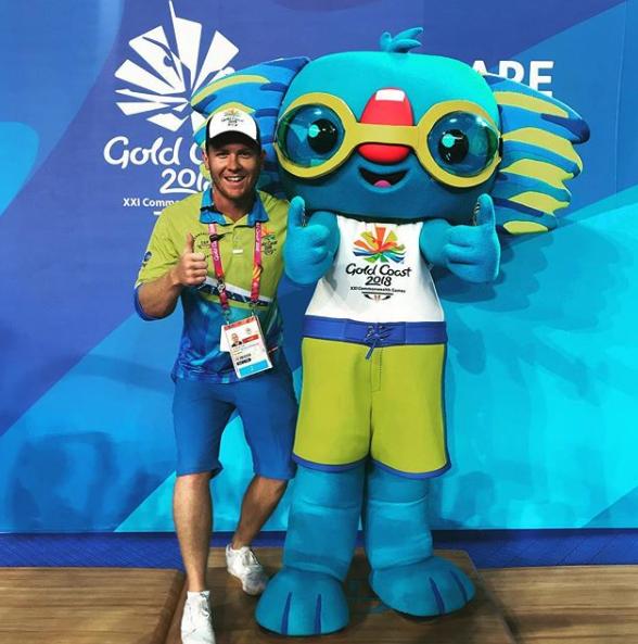 Lachlan McLean featuring the GC2018 Mascot Borobi
