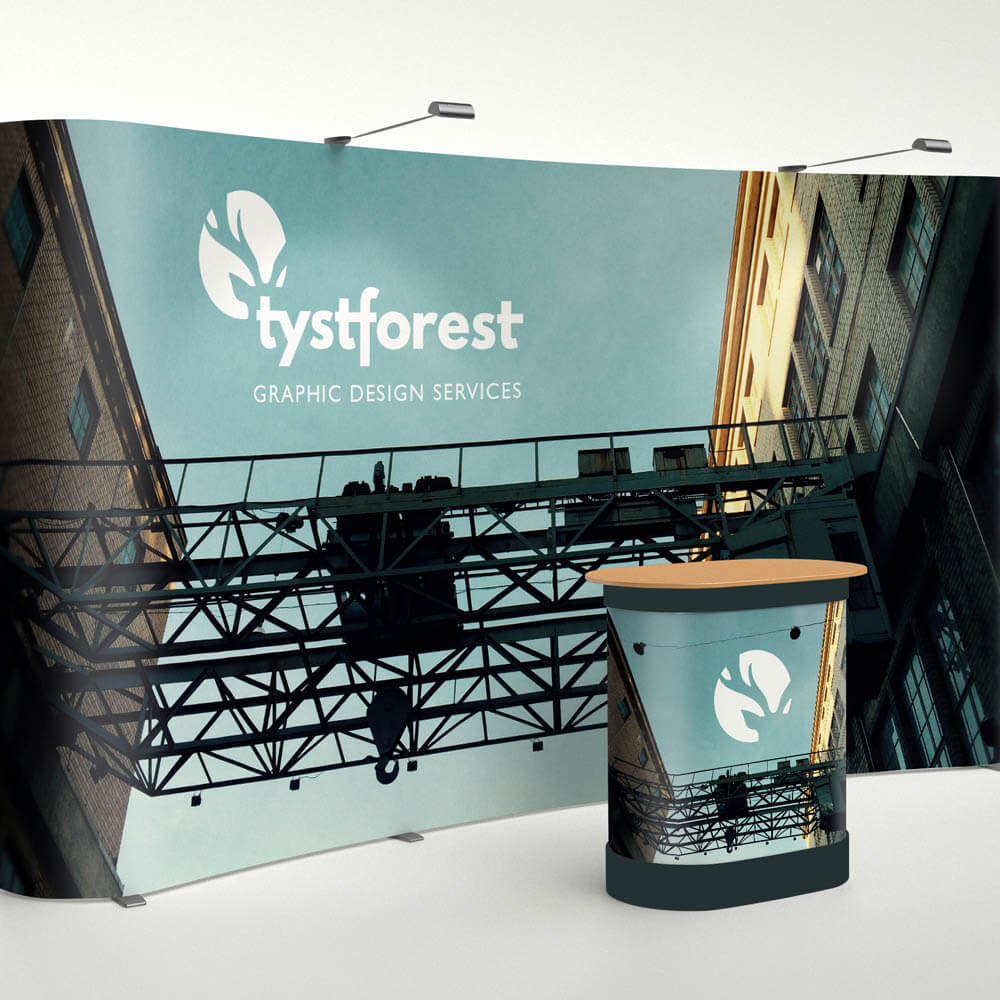 Design for stands at promotional events and shows
