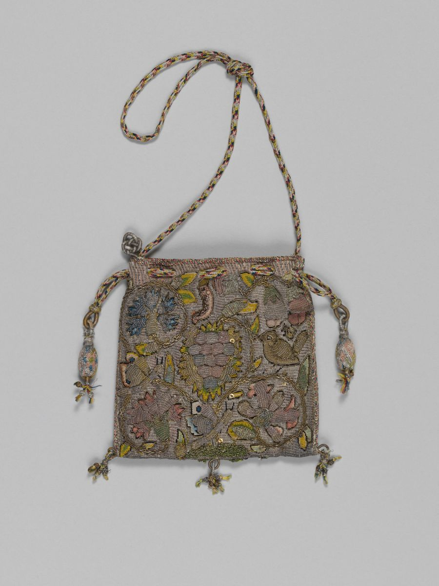 Purse  17th Century Britain  The Met