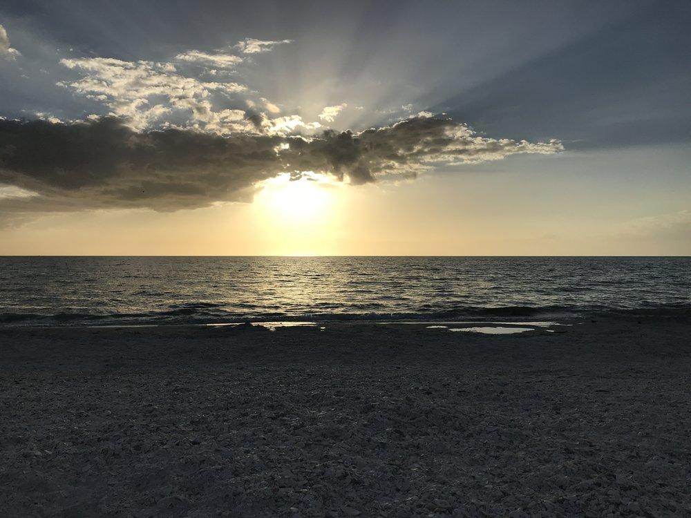 sunset over water (2).JPG