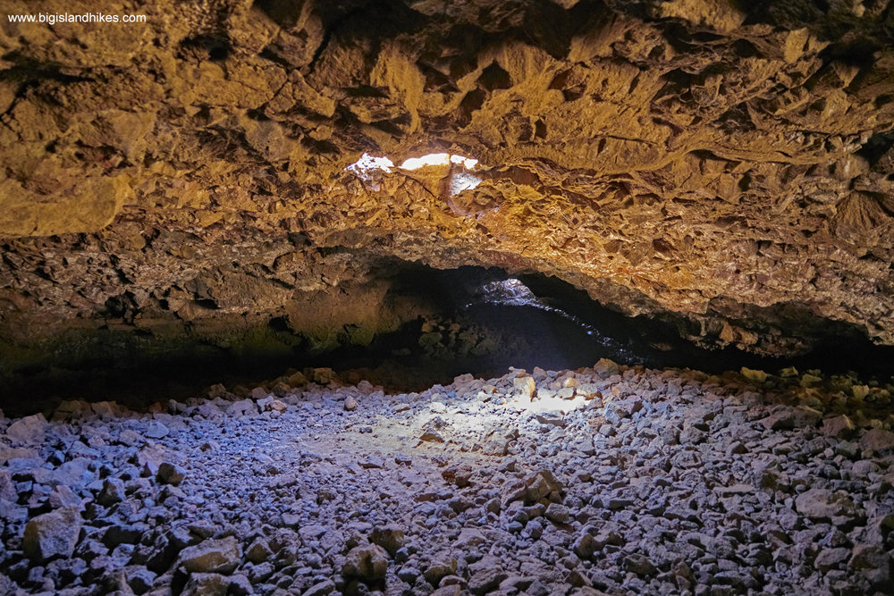 Lave Tube Shelter Cave