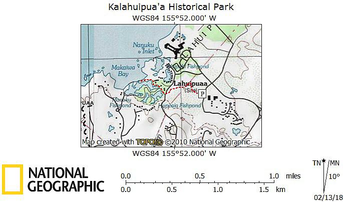 Kalāhuipua'a Map