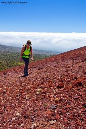 Climbing Pu'u Kole