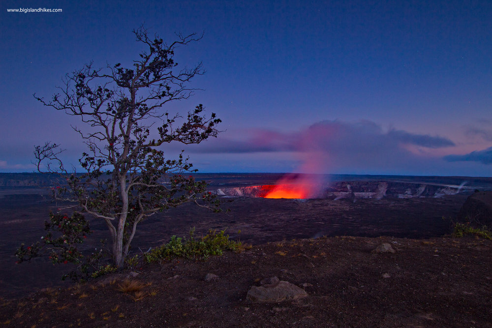 Halema'uma'u erupting in 2014