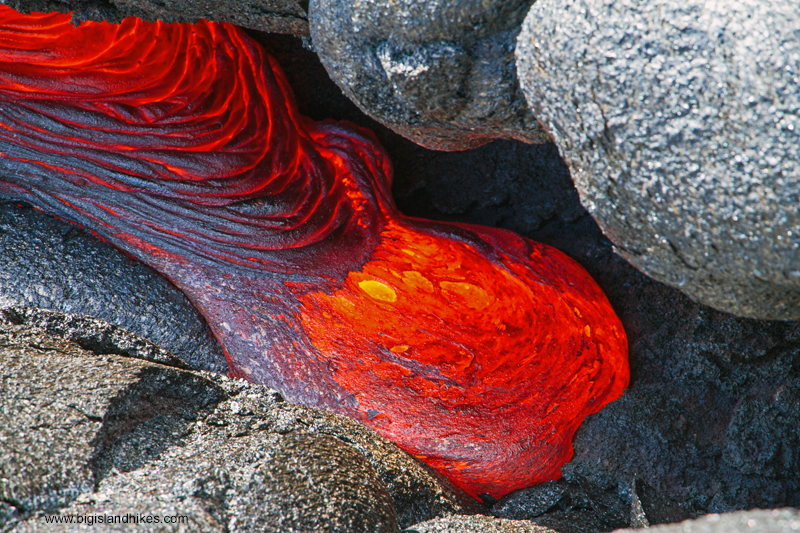 Flowing Lava from 2017