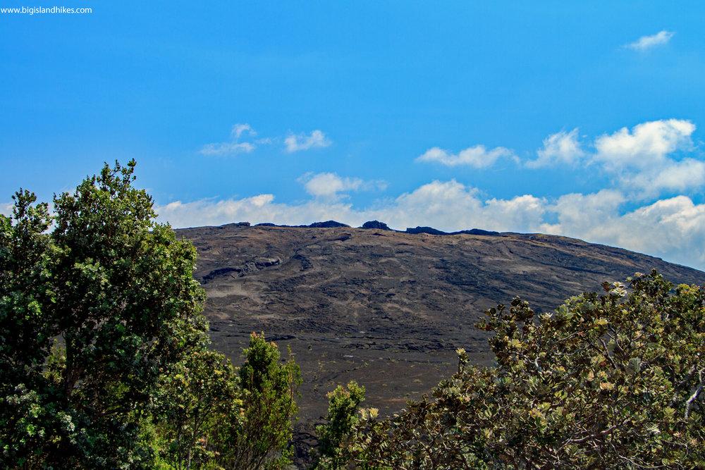 Mauna Ulu from Pu'u Huluhulu