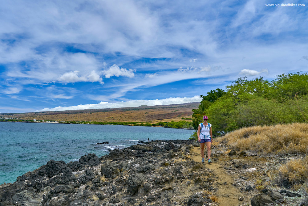 Spencer Beach Park to Waiulaula Beach