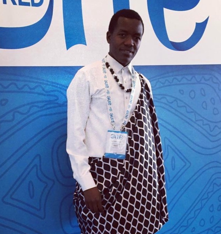 Pictured Above Hyppolite Ntigurirwa: Inspiring moment in Traditional Rwandan outfit  @oneyoungworld  #oyw2017   #oyw   #OYW  moments