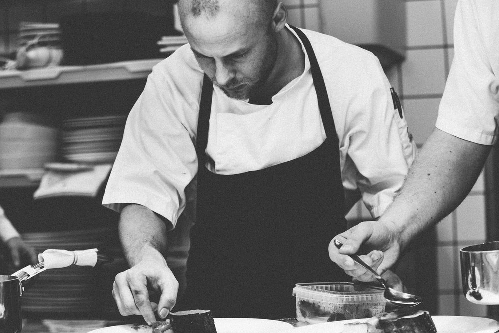 Top-notch mentorship - Meet William Hazzard, our Executive Chef. He grew up bussing tables in his grandfather's St. Louis restaurant, then went on to cook in kitchens including Seattle's Pike Place Market, Bread and Ink, and Place Pigalle (Two Michelin stars).