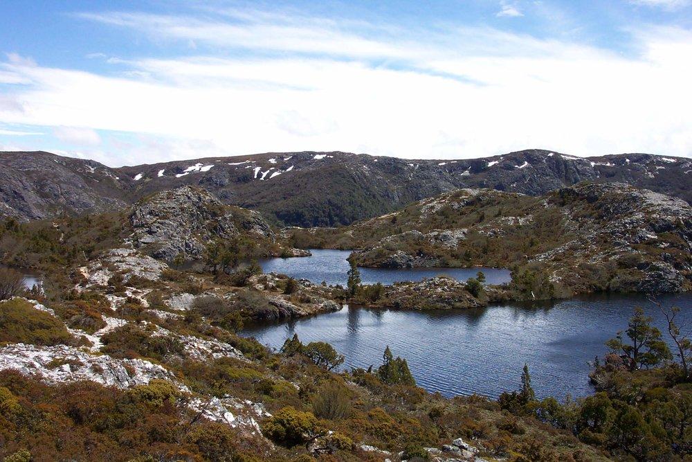Hansons Peak and Twisted Lakes - Cradle Mountain Highlanders