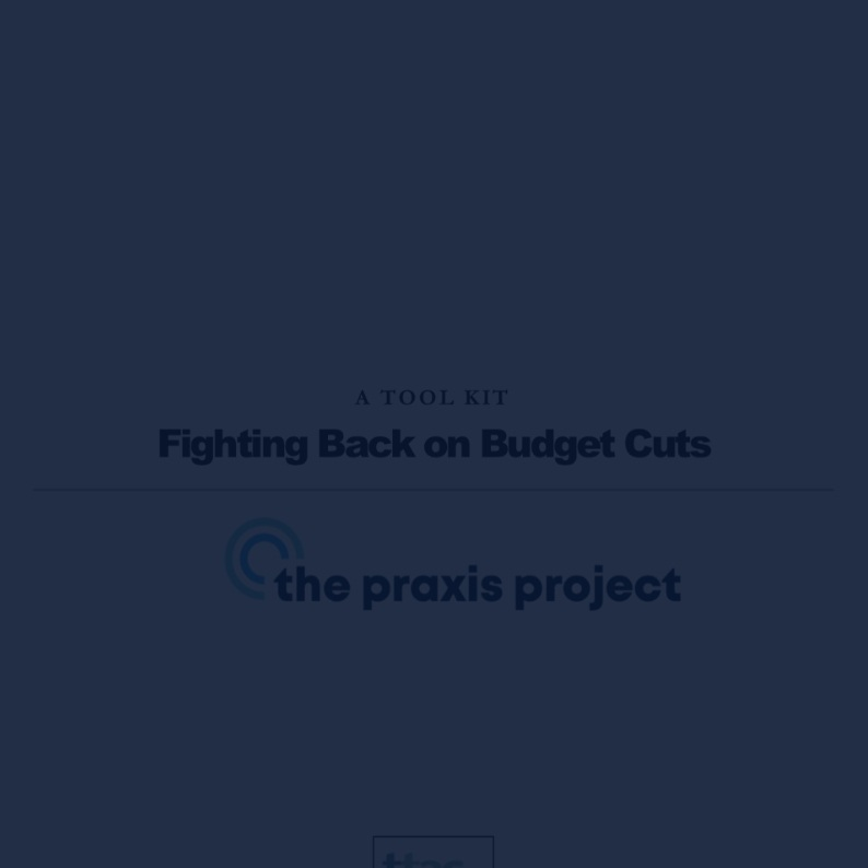 Fighting Back on Budget Cuts -