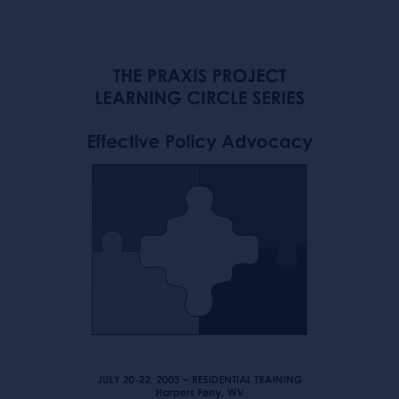 Effective Policy Advocacy (English) -