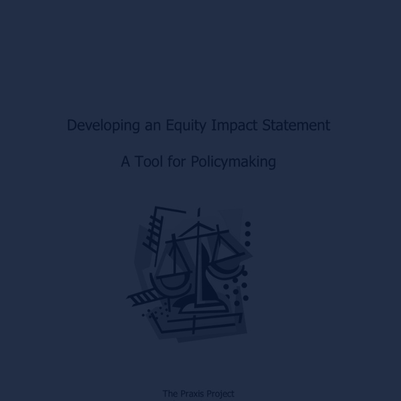 Developing an Equity Impact Statement -