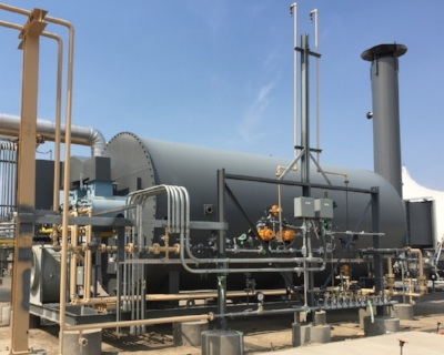 Packaged heaters designed specifically for use as hot oil heaters, regeneration gas (regen gas) heaters often used by midstream gas processors.