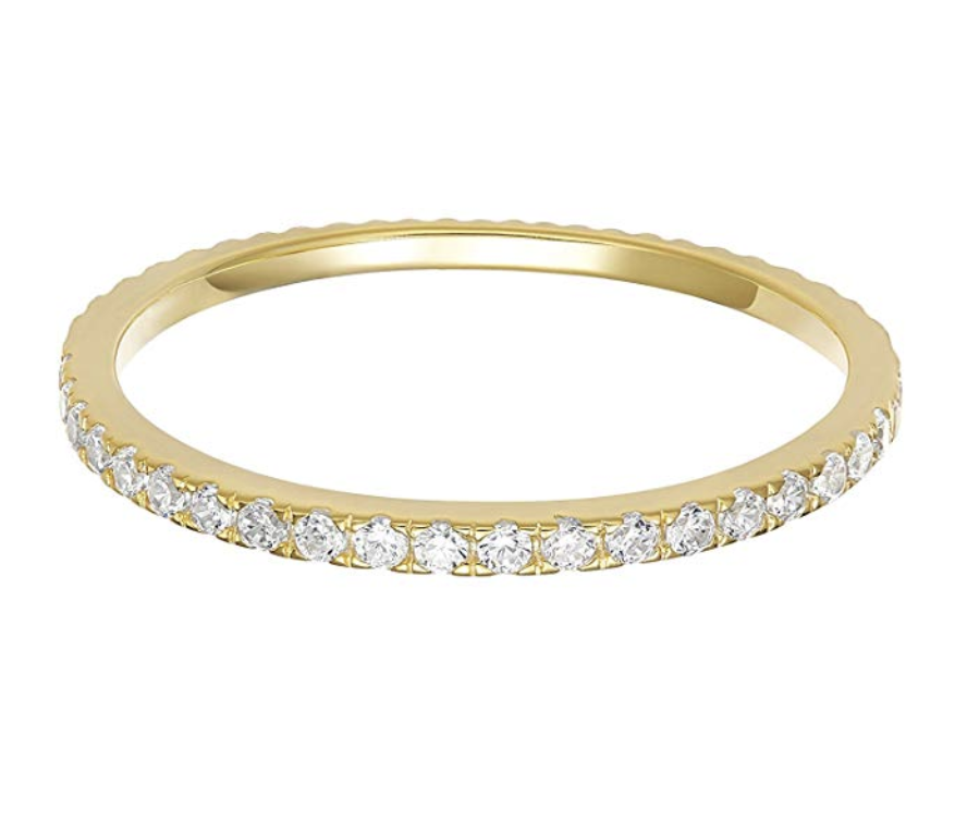 PAVOI DIAMOND STACKABLE RING