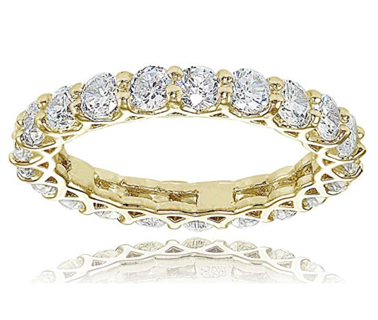 HOOPS & LOOPS DIAMOND RING
