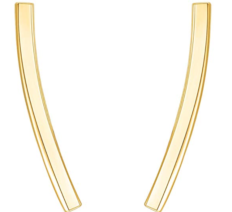 PAVOI GOLD CRAWLER EARRINGS