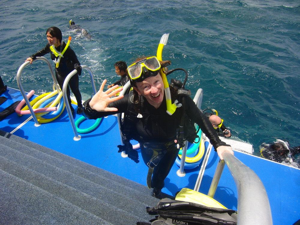 Diving Great Barrier Reef, Cairns, Australia