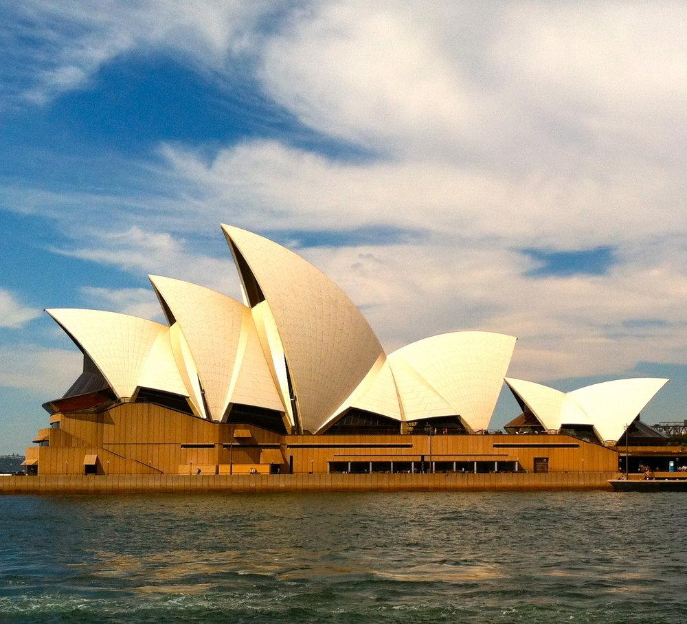 Sidney Opera House, South Whales, Australia
