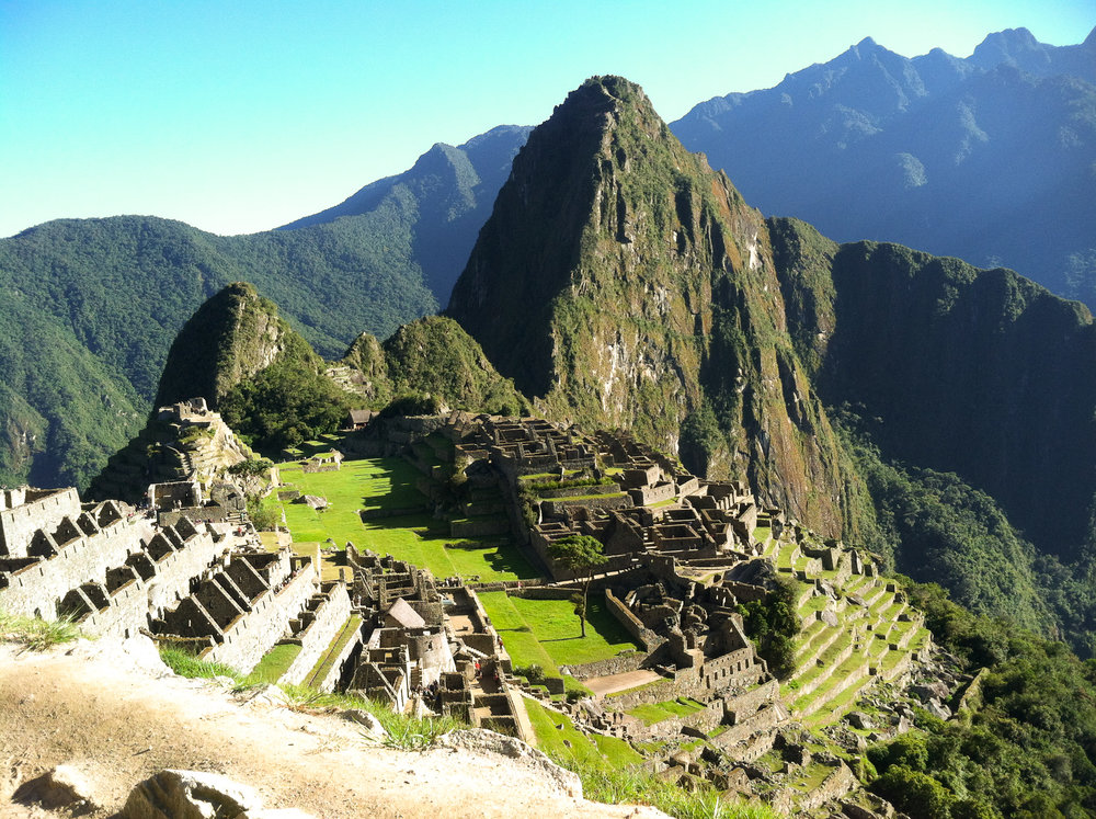 Hiking the Inca Trail from the Sacred Valleyl to Machu Picchu - Peru.