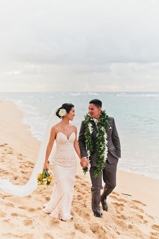 Amelia+Jon - September 2018 | Hawaii Polo Fields