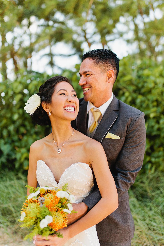 Hawaii Polo Club Wedding - Bride + groom 1_10.jpg